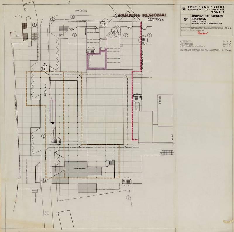 Marat centre ville r novation ivry sur seine gailhoustet collection frac centre - Parking ivry sur seine ...