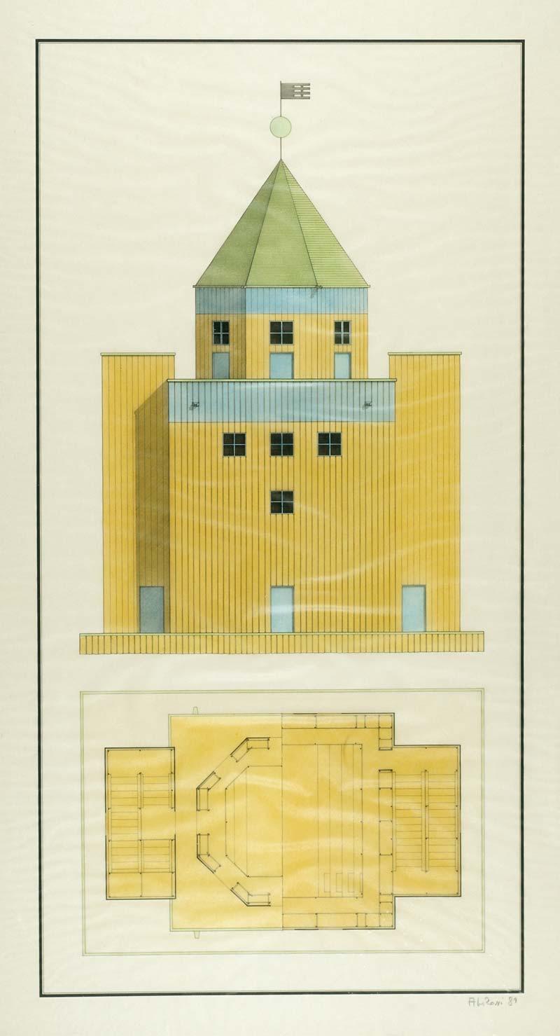 Teatro del Mondo  Rossi  Collection Frac Centre