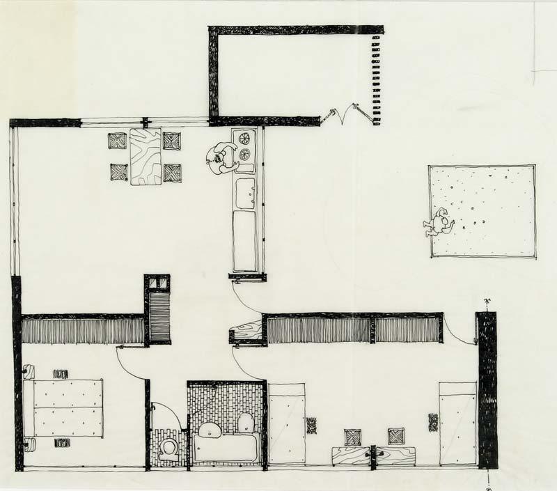 Dessin Tuiles Plan Architecture : Concours tuiles et briques schein collection frac centre