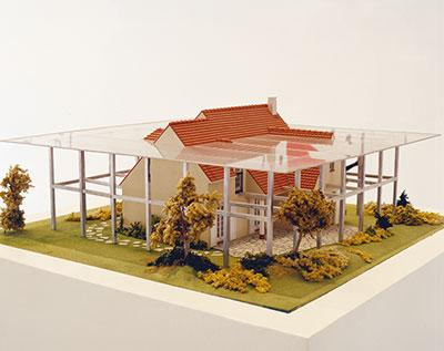 Projet pour une architecture pavillonnaire