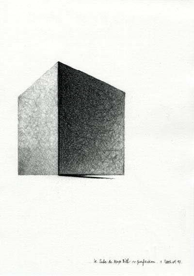 esquisse du cube parent collection frac centre. Black Bedroom Furniture Sets. Home Design Ideas