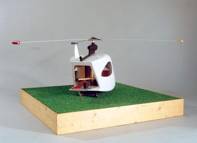 Maison de vacances volante
