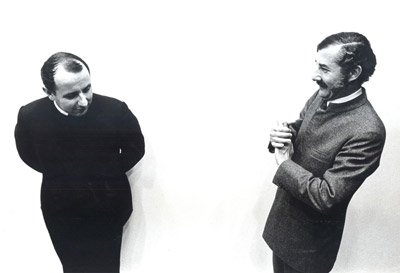 Claude Parent avec Paul Virilio, 1966